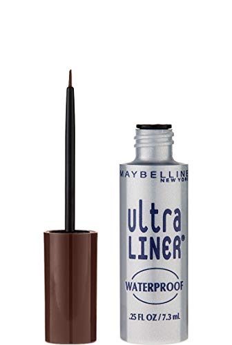 Maybelline New York Ultra Liner Waterproof Liquid Eyeliner, 302 Dark Brown, 0.25 fl. oz.