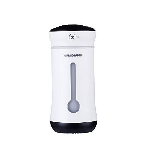 Ruiding - Humidificador mini USB, humidificador para coche, atomizador de aire de escritorio, color negro