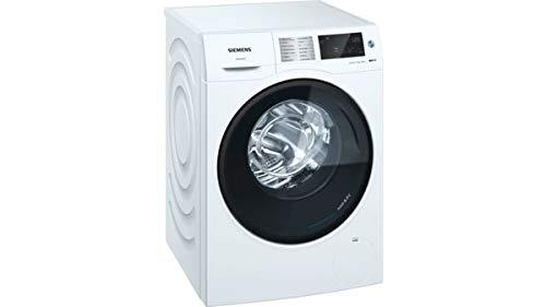 Siemens iQ500 WD4HU540ES lavadora Carga frontal Independiente Blanco A - Lavadora-secadora (Carga frontal, Independiente, Blanco, Izquierda, Tocar, LED)