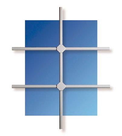 Burg Wächter Fenstergitter seguridad-m 80x 100cm