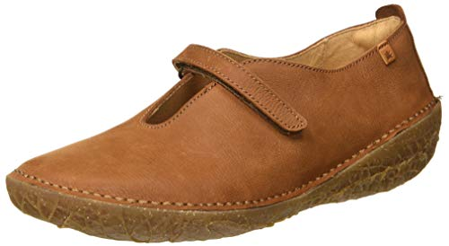 El Naturalista Damen N5721 Pleasant Borago Slip On Sneaker, Braun (Wood Wood), 40 EU
