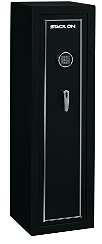 Stack-On SS-10-MB-E 10 Gun Fully Convertible Security Safe with Electronic Lock, Matte Black