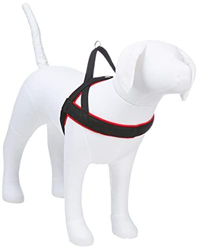 Nobby, pettorina per cani, tipo norvegese, modello 'Mesh Preno' L-XL(L: 68-85 cm + 54 cm; B: 40/45 mm) rosso