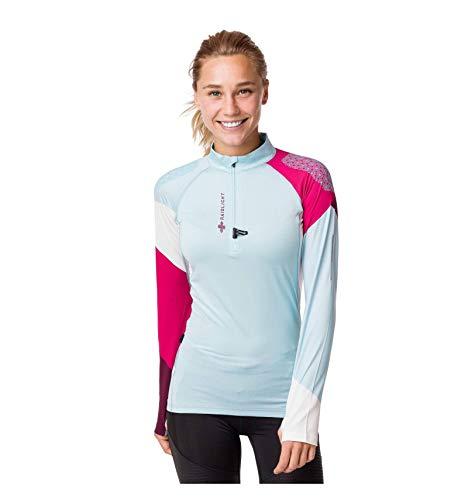 RaidLight T-Shirt Running Femme Performer LS Top Bleu Rose AH 2019