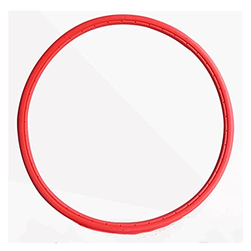 YJHL Qiqibh Bicicleta de montaña Solid 24x1 3/8 Bicycle Road Road Fixed Gear Tube Inner Tube 1pc (Color : Red)