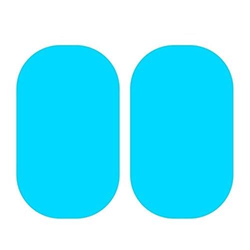AN Claral 04.02 / 8pcs Auto-Seiten-Spiegel wasserdicht Anti-Fog Film Seitenfensterglas Film kann Ihre Vision-Fahren bei Regen schützen (Color : 2pcs 95x135)