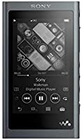 Sony NW-A55L 16GB Walkman Hi-Res Portable Digital Music Player with Touch Screen, S-Master HX and DSEE-HX - Black