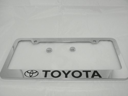toyota camry chrome license plate - 6