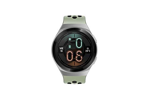 Huawei 55025279 Watch GT 2e Active - Smartwatch de AMOLED, pantalla de 1.39 pulgadas, 2 semanas de Batería, GPS, Color Verde (Mint Green), 46 mm