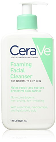 Cerave Foaming Facial Cleanser 12 Oz (Pack of 2) by CeraVe