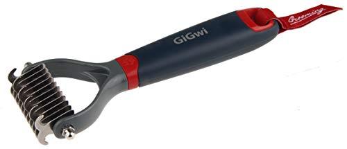 GiGwi 8274 Cepillo y Cepillo para Gatos Cepillo de Pelo, Cepillo de Pelo Gato, 70 g