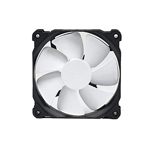 Centilador Cpu 120/140 mm Fan de la caja con el ventilador de presión optimizado a presión PWM, almohadillas de absorción del sistema de radiadores para la caja de la computadora Sistema Refrigeración