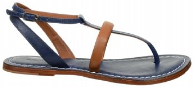Bernardo Women's Marigold Choc Nappa Tortoise sandals 9 M
