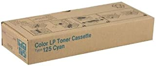 Ricoh Aficio CL2000, 2000N, 3000 Cyan Toner (5,000 Yield) (Type 125), Part Number 400969