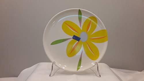 Studio Nova Set mit 4 Dolce Untertassen 20 cm aus Glas arcopal Decorato Fleur ACQUAREL
