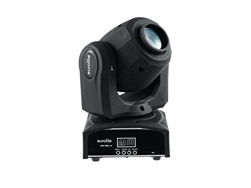 Eurolite LED TMH-13 Moving-Head Spot | Spotlight mit 10-W-LED, Gobos und Farbrad | Gobo-Rad mit 7 statischen Gobos plus offen | Exakte Positionierung durch 16-Bit-Auflösung der PAN/TILT-Bewegung