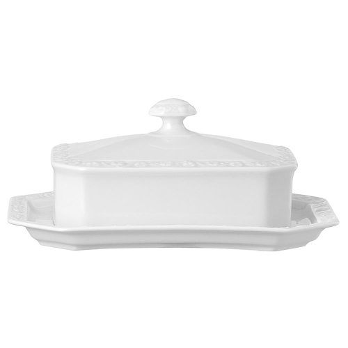 Rosenthal 10430-800001-15169 Maria Butterdose 250 g, weiß