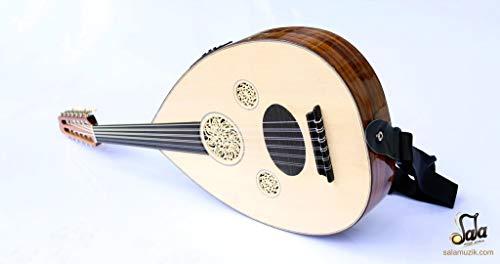 Türkische Professionelles links Hand Elektrische Oud UD String Instrument Oude 4L