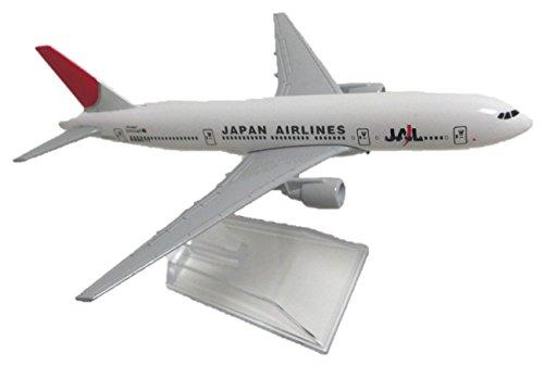 Kiumi ボーイング 日本航空 777 B777 -200 Japan Airline JAL JA772J 1/400 スケール 模型 全日空 エアバス