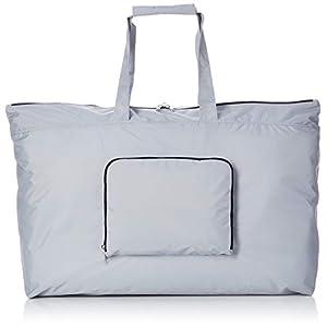 [ノーマディック] トートバッグ Folding bag 折りたたみ エコバッグ トートワイド型 38ℓ トラベル 撥水 FO-34 灰