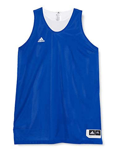 adidas W Rev Crzy Ex J Camiseta de Baloncesto, Mujer, Azul (Reauni/Blanco), 2XL