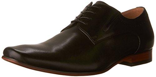 ALDO Men's Wakler-R Oxford Dress Shoes, Black Leather, 8