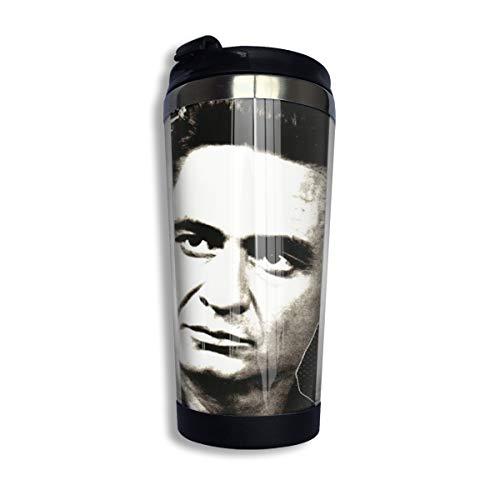 N/A NA Johnny Cash Isolierte Kaffeebecher Doppelwandige Isolierbecher Für Kaffee Tee Und Bier Isolierter Reisebecher