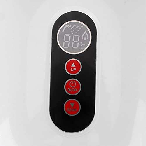 Durchlauferhitzer Durchlauferhitzer Elektrischer Durchlauferhitzer Mit großem LCD-Bildschirm Durchlauferhitzer Stromsparende Haushaltsartikel(white, pink)