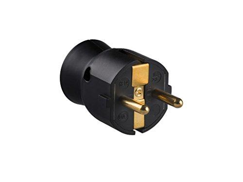 Legrand 050177 Enchufe Móvil Sin Cable, Negro, 3680 W, 230 V