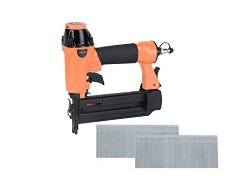 """Valu-Air F50Q 18 Gauge Pneumatic Brad Nailer 3/8"""" to 2"""" for Cabinet, Trim, Baseboard, Chair Rail, and Finish Work"""
