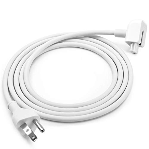Replacement Power Adapter Extension Cord Wall Cord Cable Compatible for Apple Mac iBook MacBook Pro MacBook Power Adapters 45W, 60W, 85W MagSafe 1 or MagSafe 2 Models