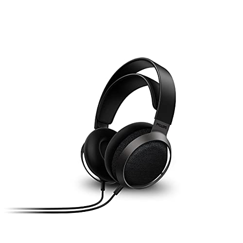 Philips Fidelio X3 Wired Over-Ear Open-Back Headphones, Multi-Layer 50mm diaphragms,...