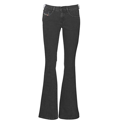 Diesel Jeans A Zampa Nero 'd Ebbey', 26, Nero