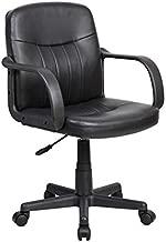 Cadeira de Escritório Secretária Clean Preta