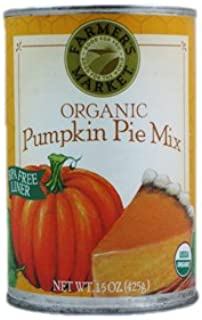 Farmer's Market: Organic Pumpkin Pie Mix (6 X 15 Oz)