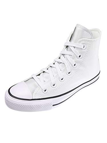 Converse Damen Schuhe CT All Star Hi Weiß Leinen Sneakers Größe 39.5 EU