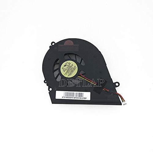 DBTLAP Ventilador de la CPU del Ordenador portátil Compatibles para Toshiba Satellite A200 A205 A210 A215 A350-12J A355 L450 L450D L455 L455D DFS531405MC0T F6S9-CCW 081408A Integrated Graphics Laptop