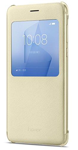 Huawei 51991683 Flip Schutzhülle für Honor 8 Gold