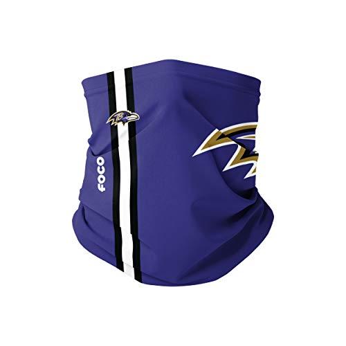 Forever Collectibles UK Baltimore Ravens - Sciarpa con logo