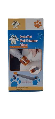 Limador de Uñas Eléctrico para Perros y Gatos, Set Manicura para Mascotas...