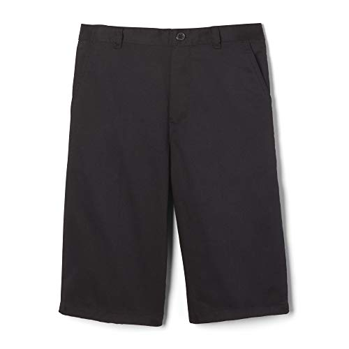 French Toast Big Boys' Pull-On Short, Black, 14