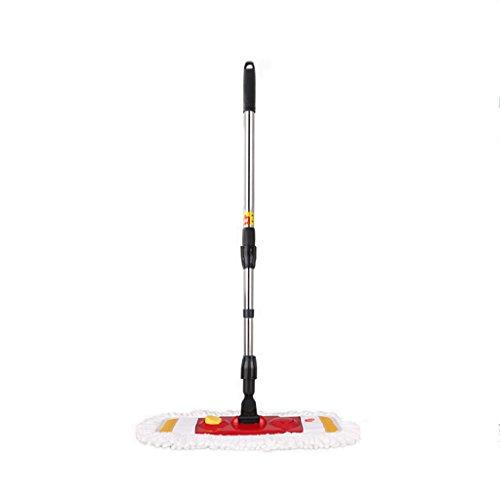 LIZHIQIANG Vadrouille À Plat Mop Mop Polyester Mop Mop Mop Vadrouille En Bois