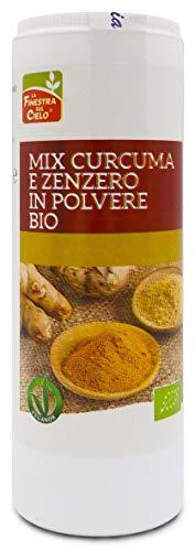 LA FINESTRA SUL CIELO Mix Curcuma e Zenzero in Polvere Bio - 80 g