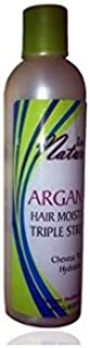 Luist Naturals Argan Oil Hair Moisturizer Triple Strength 8 Oz by Luist
