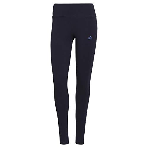 adidas GL0634 W Lin Leg Leggings Womens Legend Ink/Crew Blue S