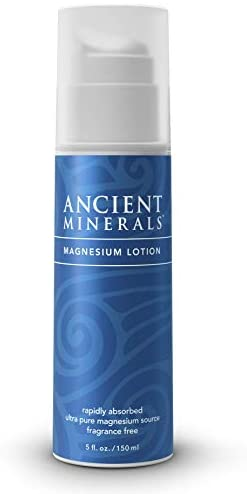 Ancient Minerals Magnesium Lotion high concentration genuine zechstein topical magnesium chloride (5oz)
