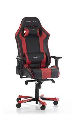 DXRacer Gaming Stuhl, OH/KS06/NR2, K-Serie, schwarz-rot