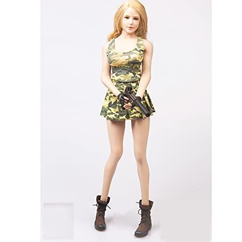 QQAA Báscula de 1/6, accesorio de disfraz, traje completo hecho a mano, modelo de ropa, figura de acción, traje jk, traje para muñeca de cuerpo femenina, modelo de juguete, realista, B