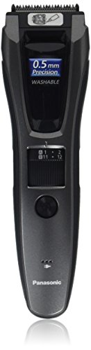 Price comparison product image Panasonic Hair and Beard Trimmer,  Men's,  with 39 Adjustable Trim Settings and Two Comb Attachments for Beard and Hair,  Corded or Cordless Operation,  ER-GB60-K