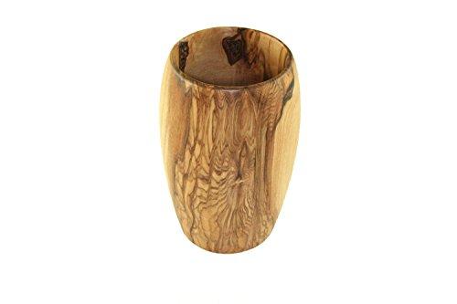 D.O.M. Die Olivenholz-Manufaktur D.O.M.–Bicchiere in legno d' ulivo
